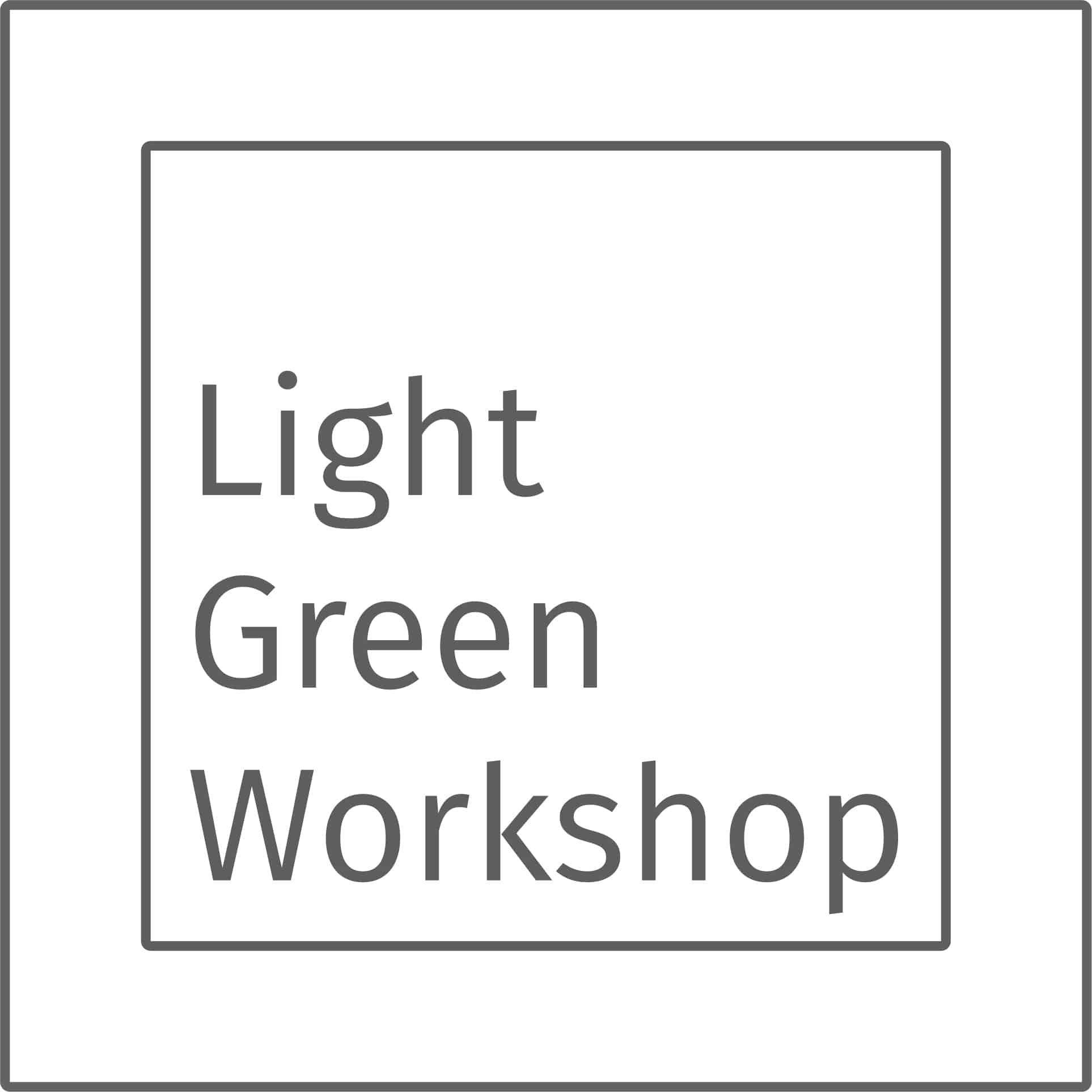 Logo Light Green Workshop